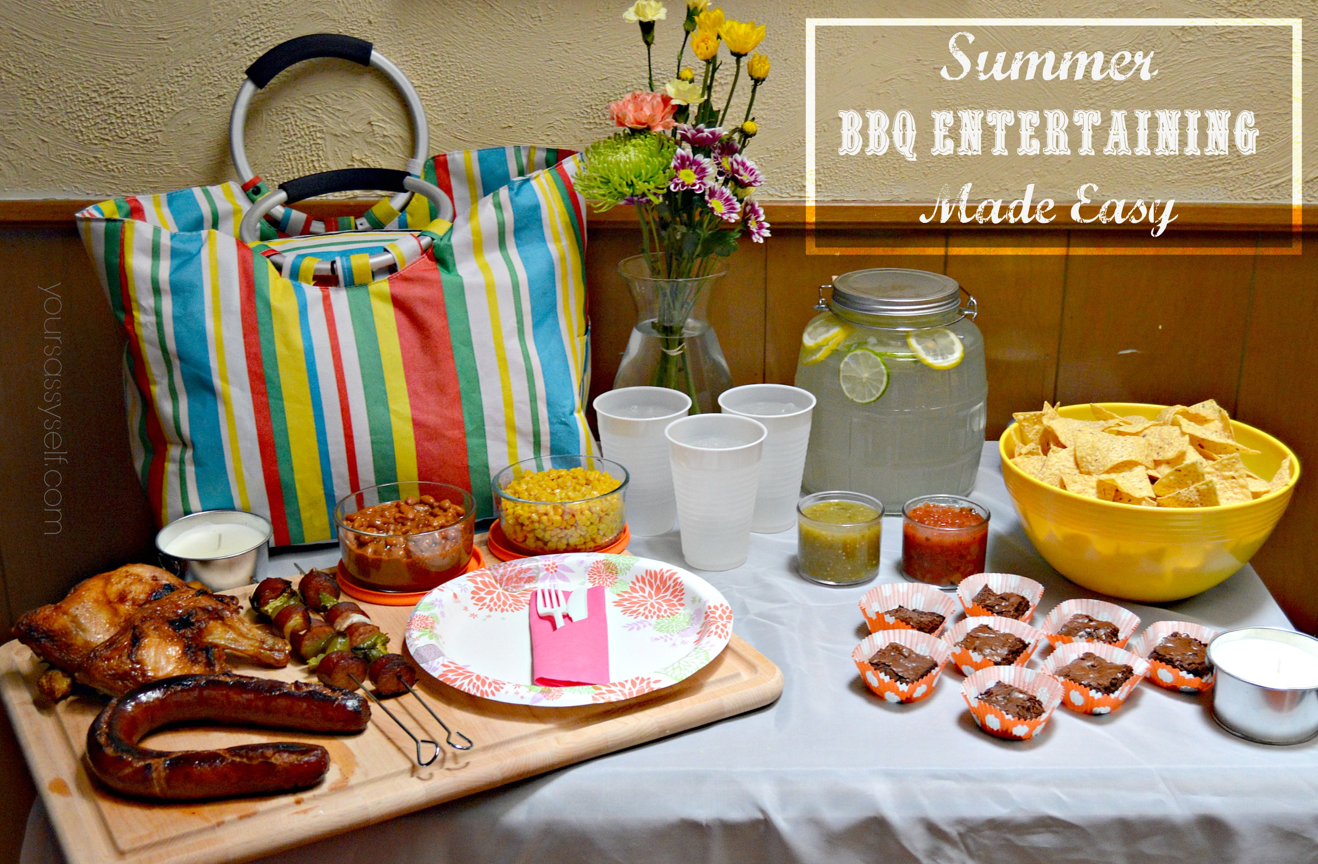 Summer BBQ Entertaining Made Easy
