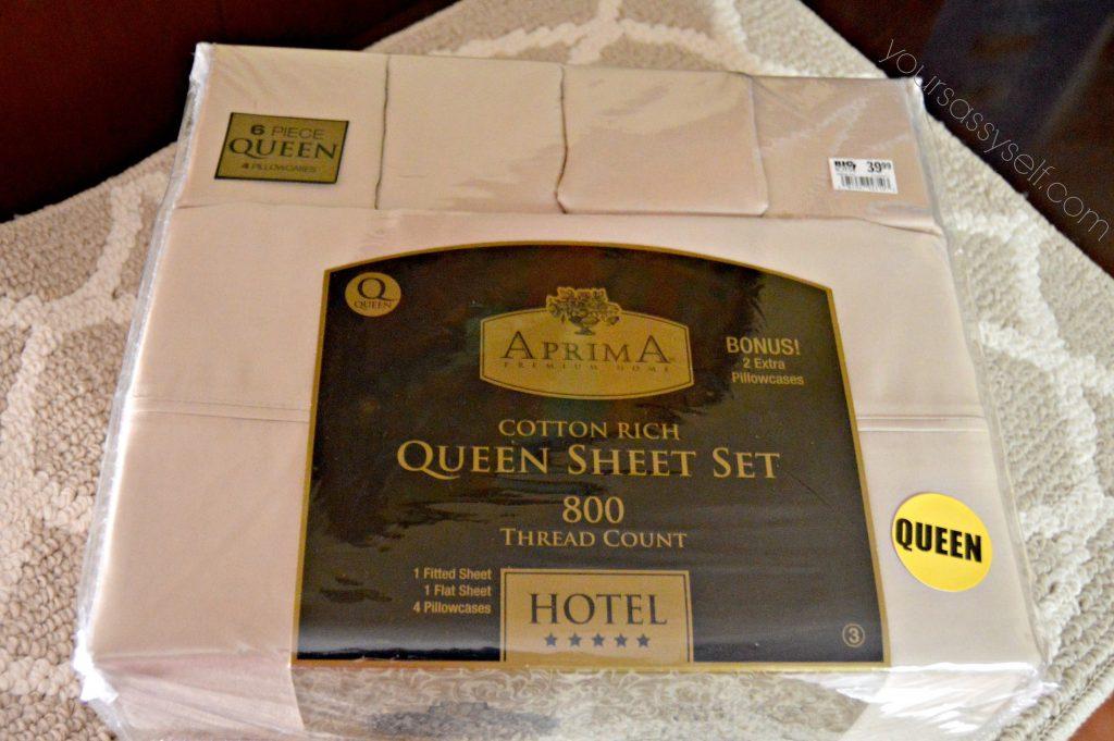 Beige Queen Sheet Set & Rug - yoursassyself.com