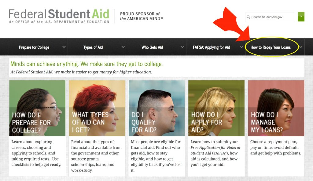 Federal Student Aid - How To Repay Your Loan - yoursassyself.com