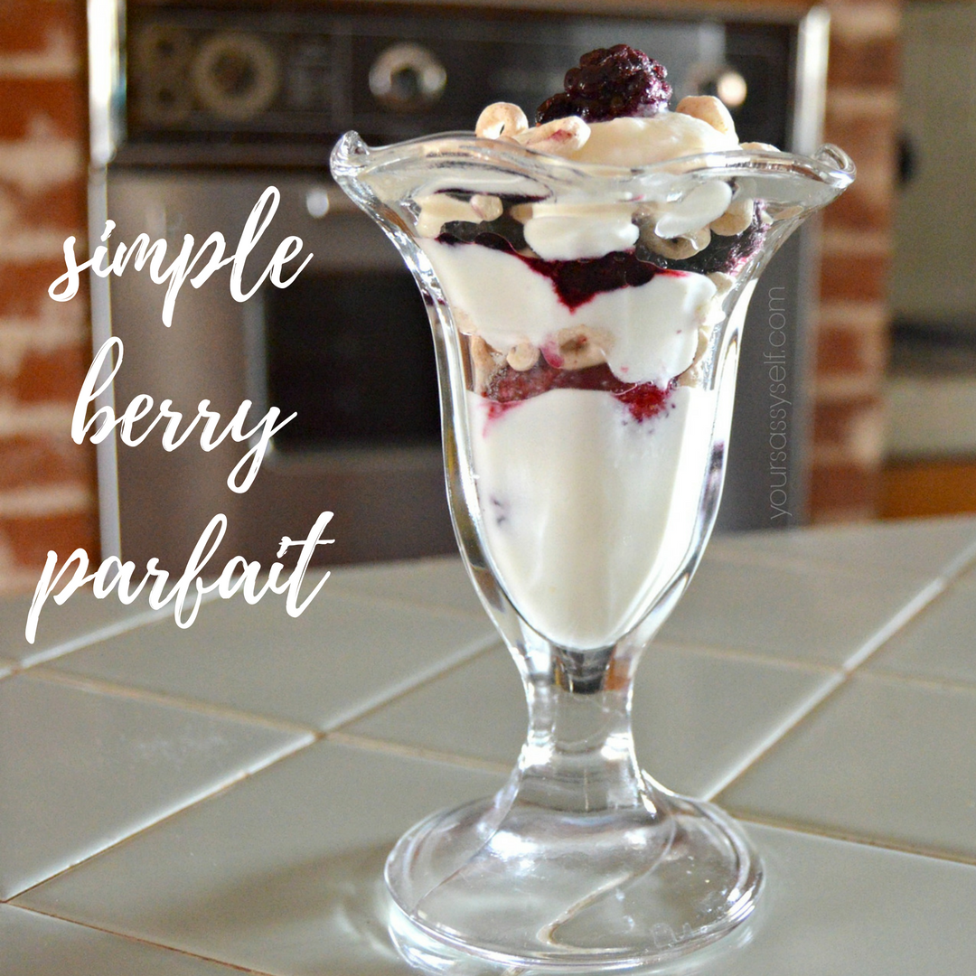 Berry Parfait - yoursassyself.com