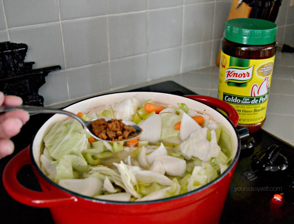 adding-knorr-chicken-flavor-bouillon-granulated-bouillon-to-chicken-soup-yoursassyself-com