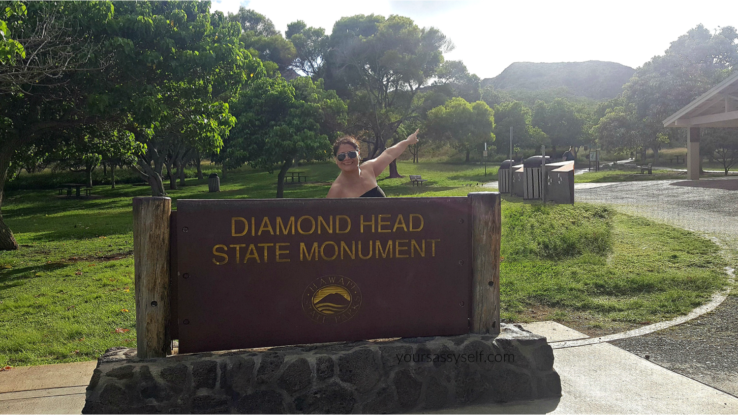 Entrance to Diamond Head - yoursassyself.com