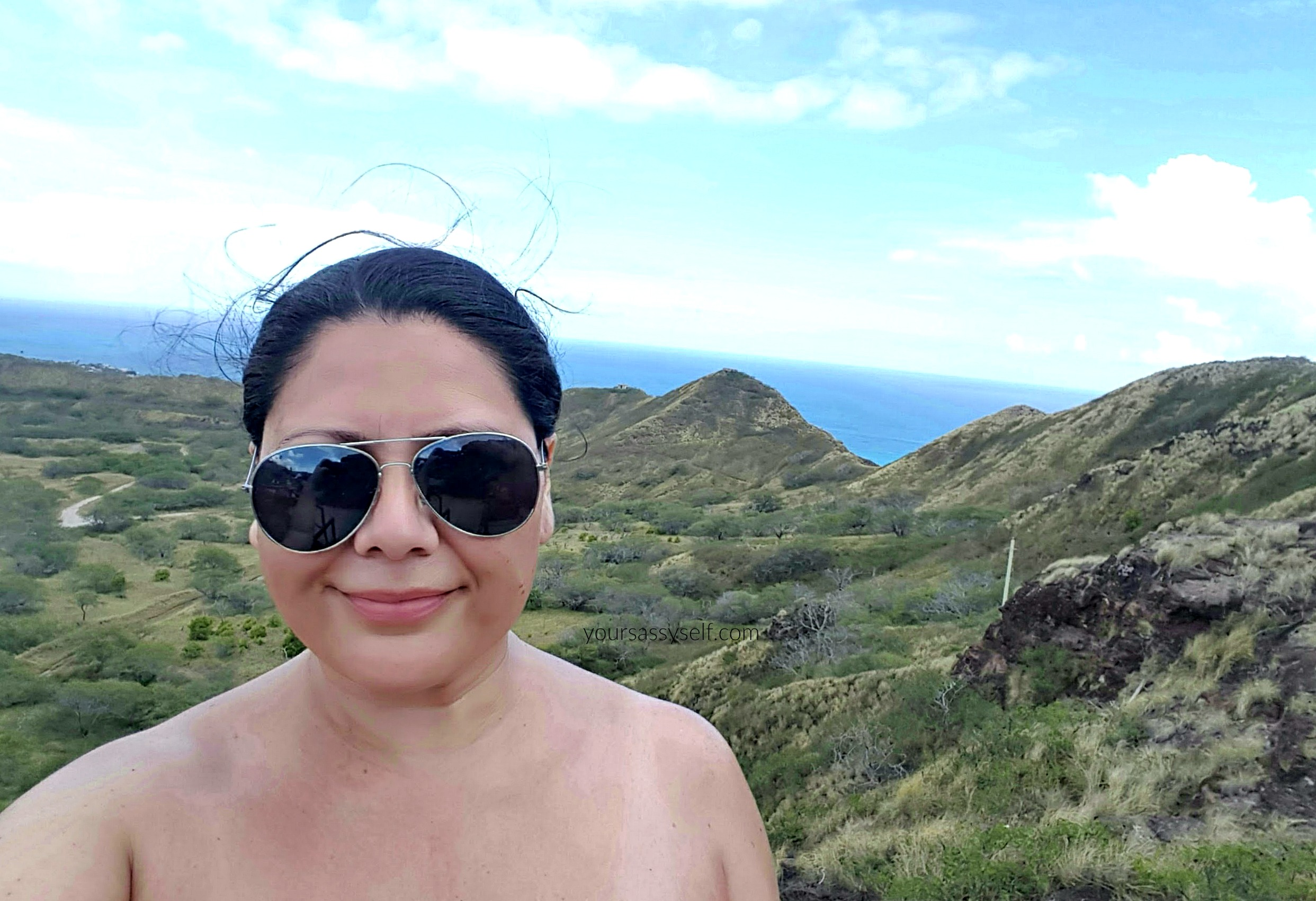 Me With Diamond Head Views - yoursassyself.com