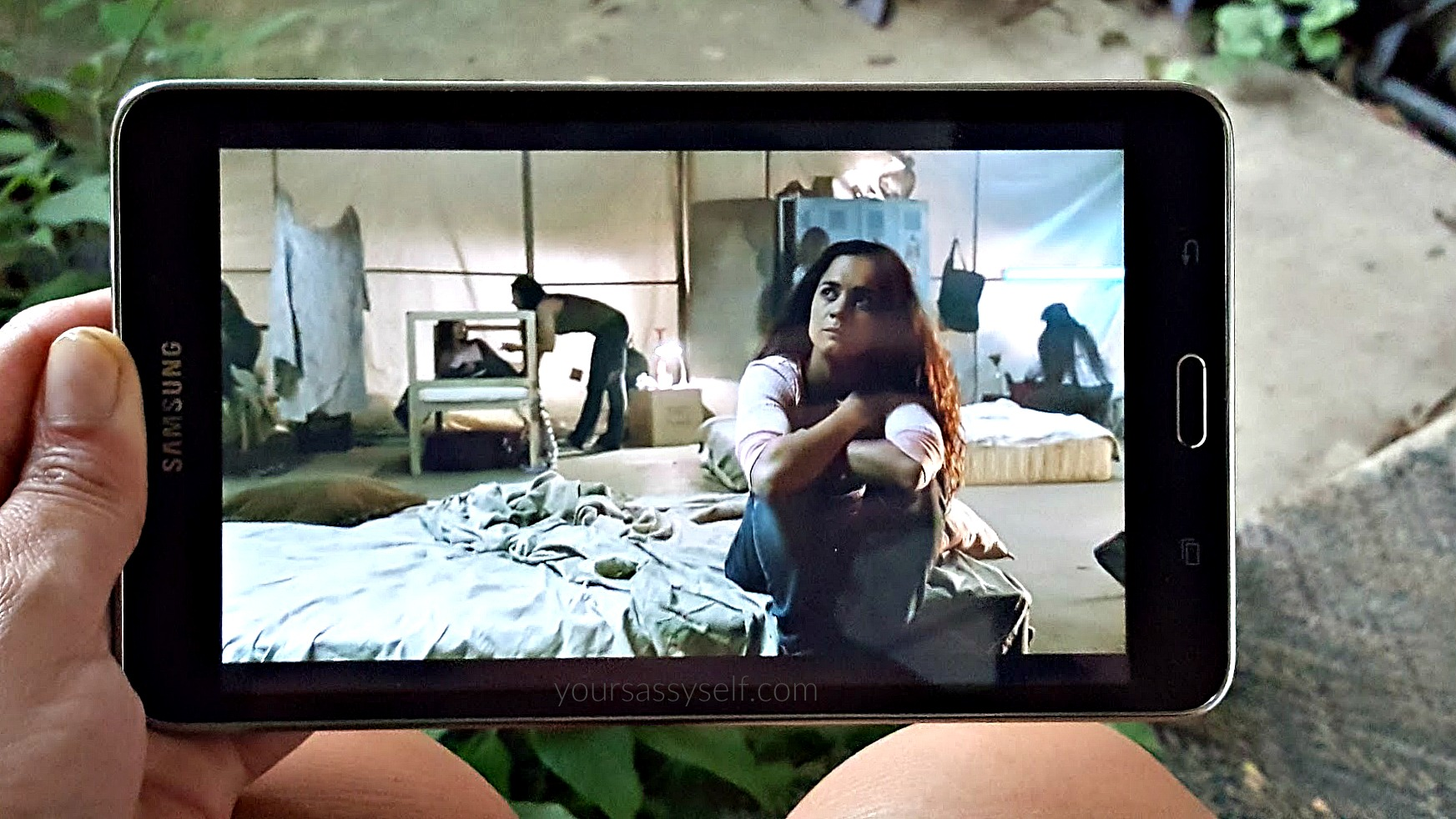 Watching Queen of the South on Tablet - yoursassyself.com