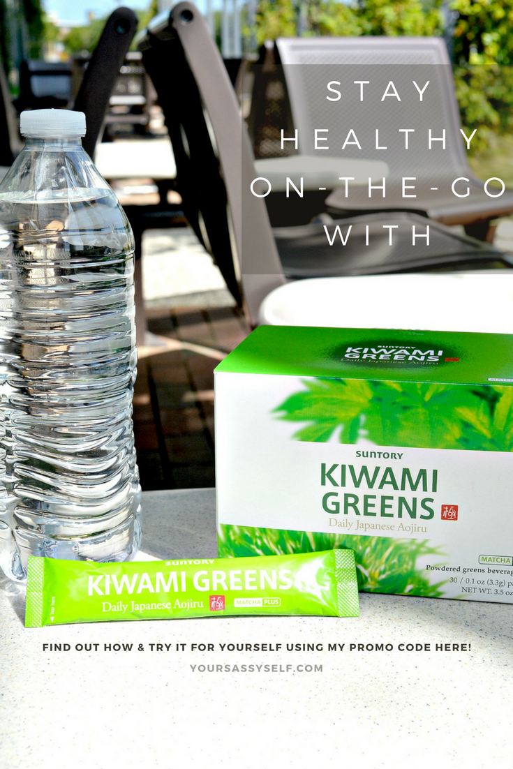 Stay Healthy On-The-Go with Kiwami Greens - yoursassyself.com
