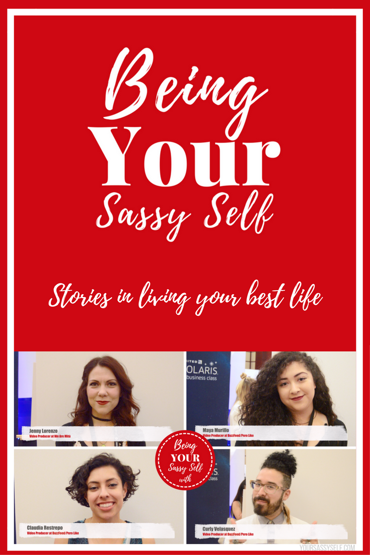 Being Your Sassy Self with Pero Like & We Are Mitú Producers - yoursassyself.com