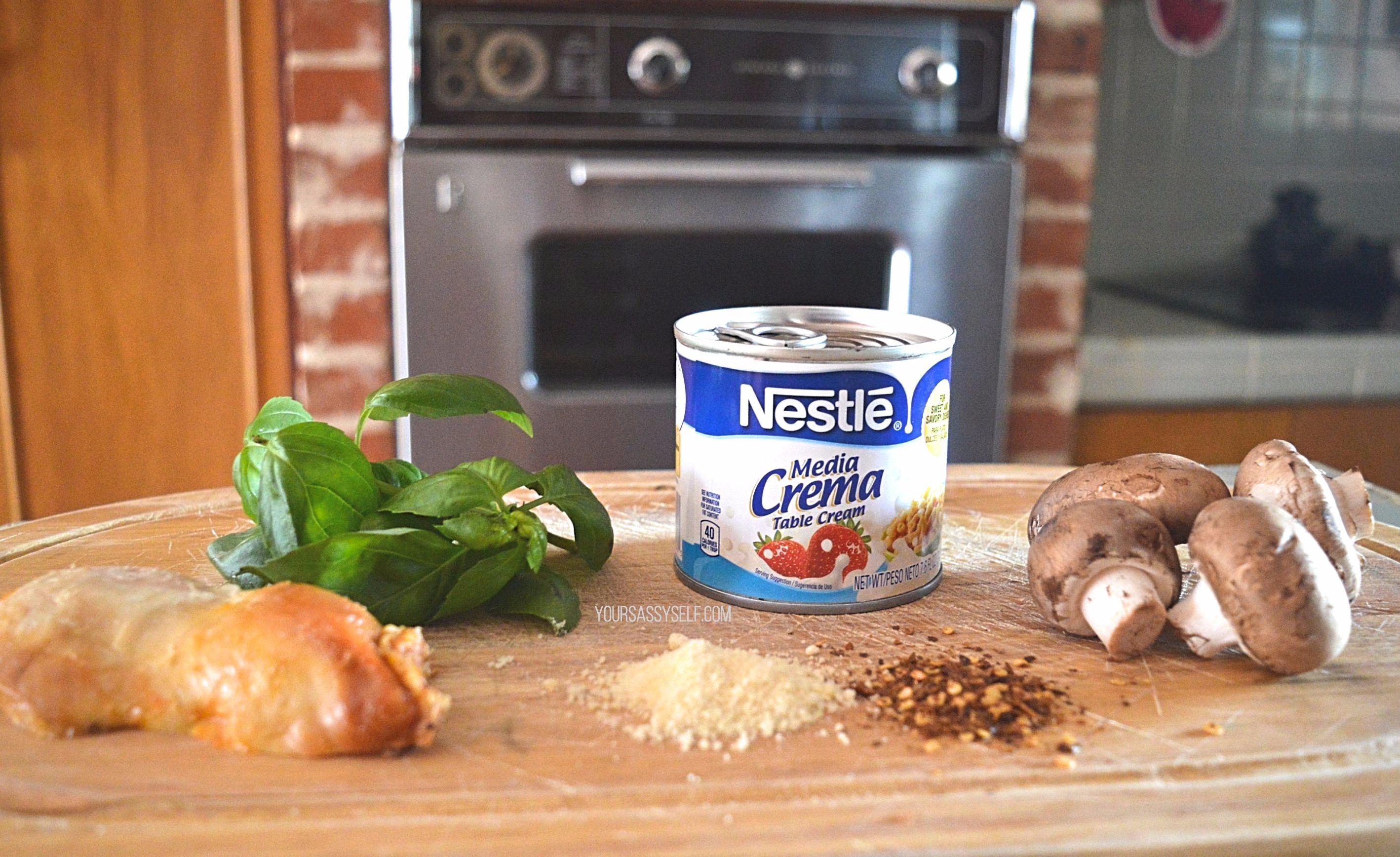 Smothered Chicken Ingredients - yoursassyself.com