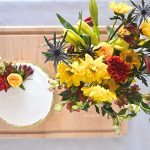 How to Add Fresh Summer Flowers to a Cake