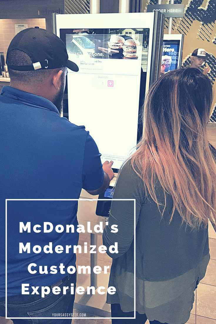 McDonald's Modernized Customer Experience - yoursassyself.com