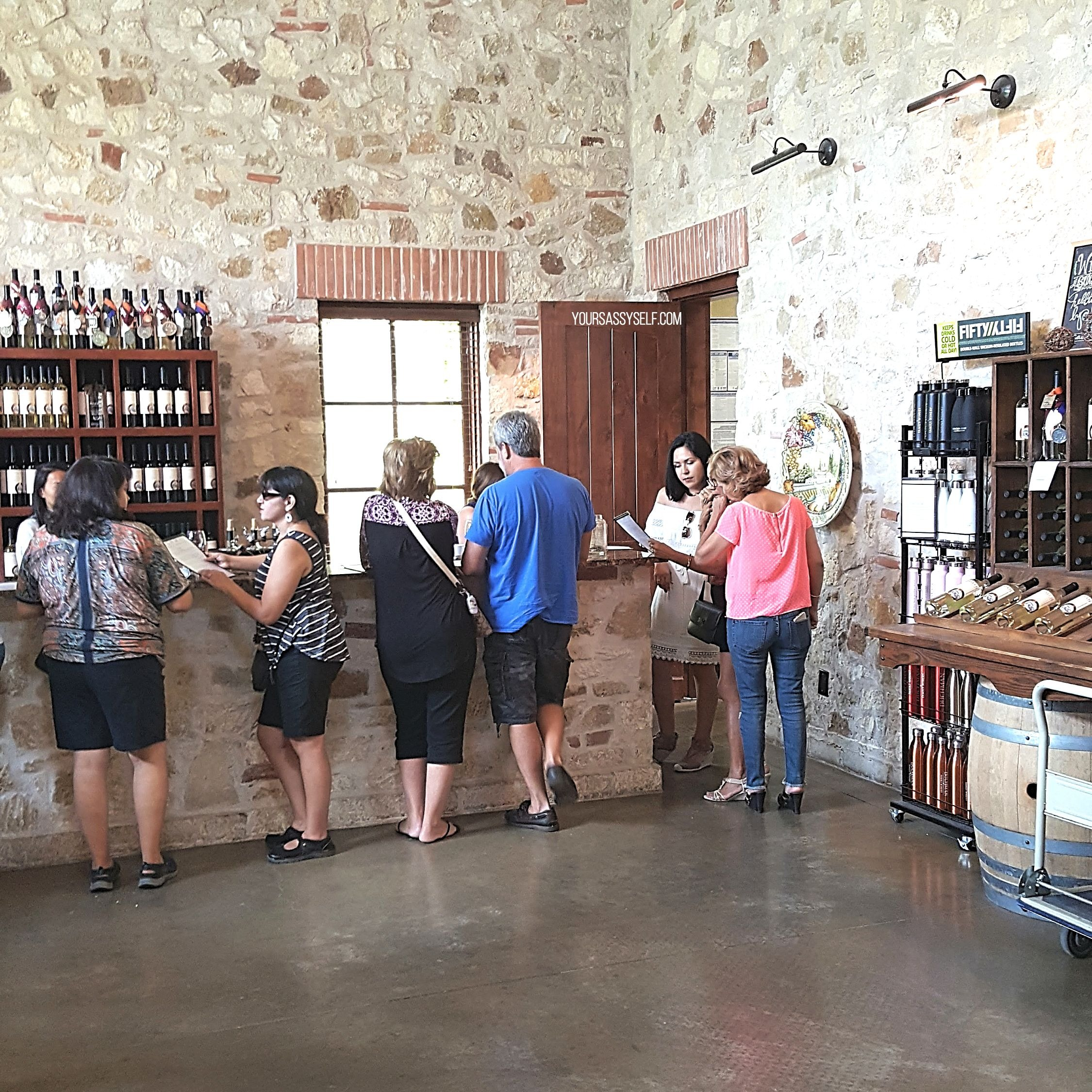 Duchman Tasting Room - yoursassyself.com