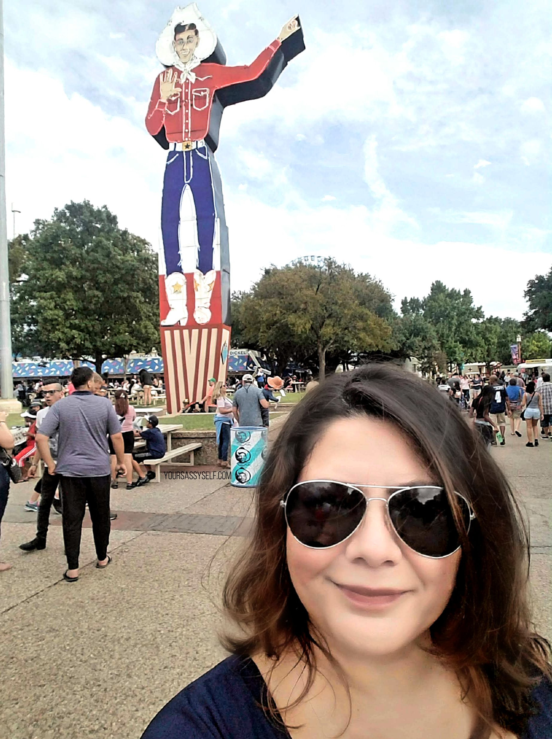 Your Sassy Self Rocio at the State Fair - yoursassyself.com
