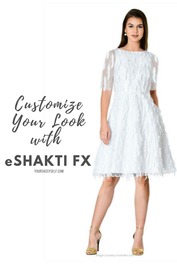 Customize Your Look with eShakti FX - yoursassyself.com