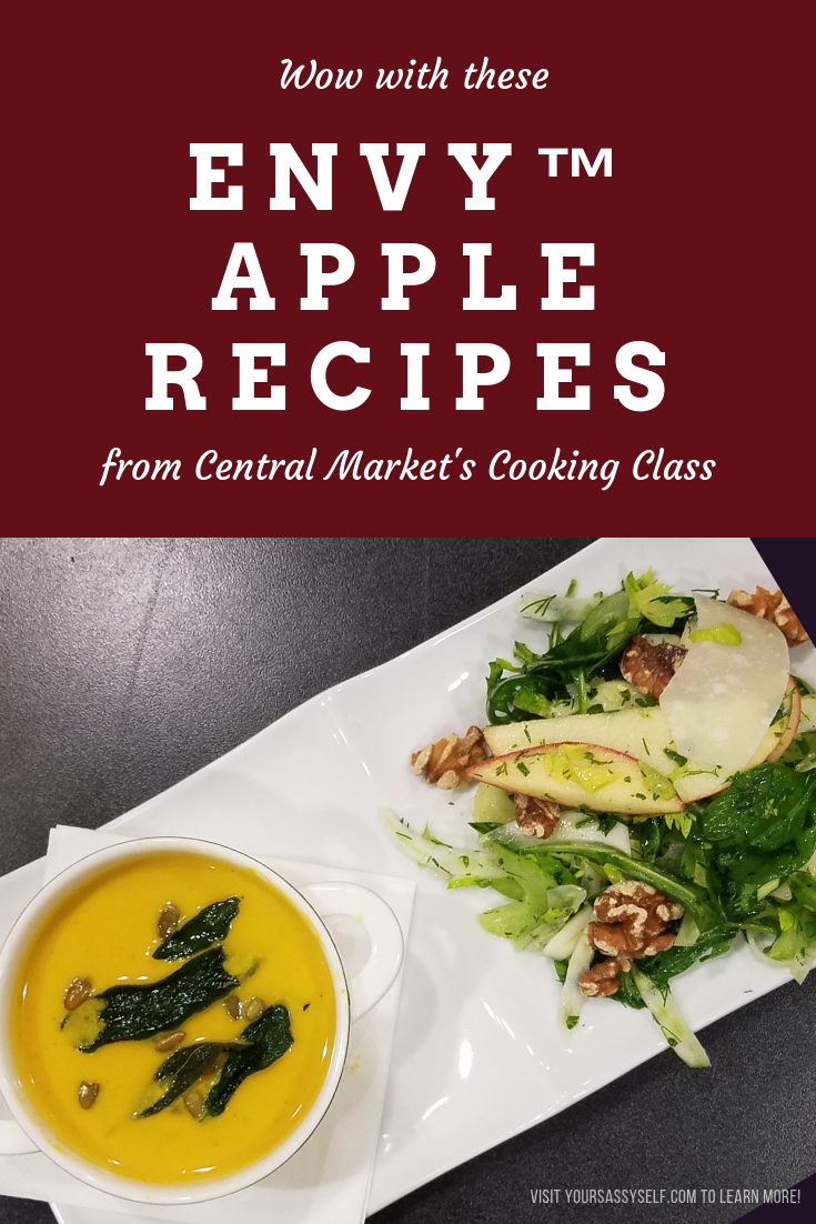 Wow with These Envy™ Apple Recipes from Central Market's Cooking Class - yoursassyself.com