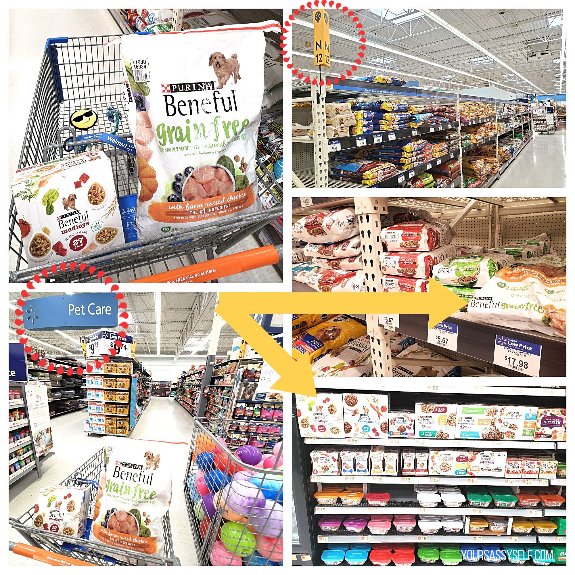 Purina® Beneful® at Walmart - yoursassyself.com