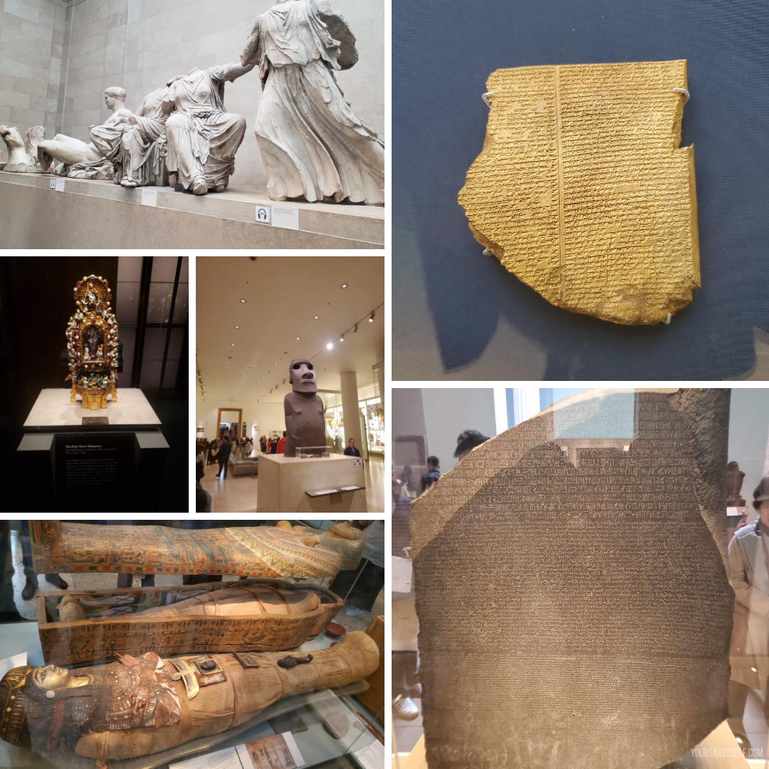 Highlights from British Museum - yoursassyself.com