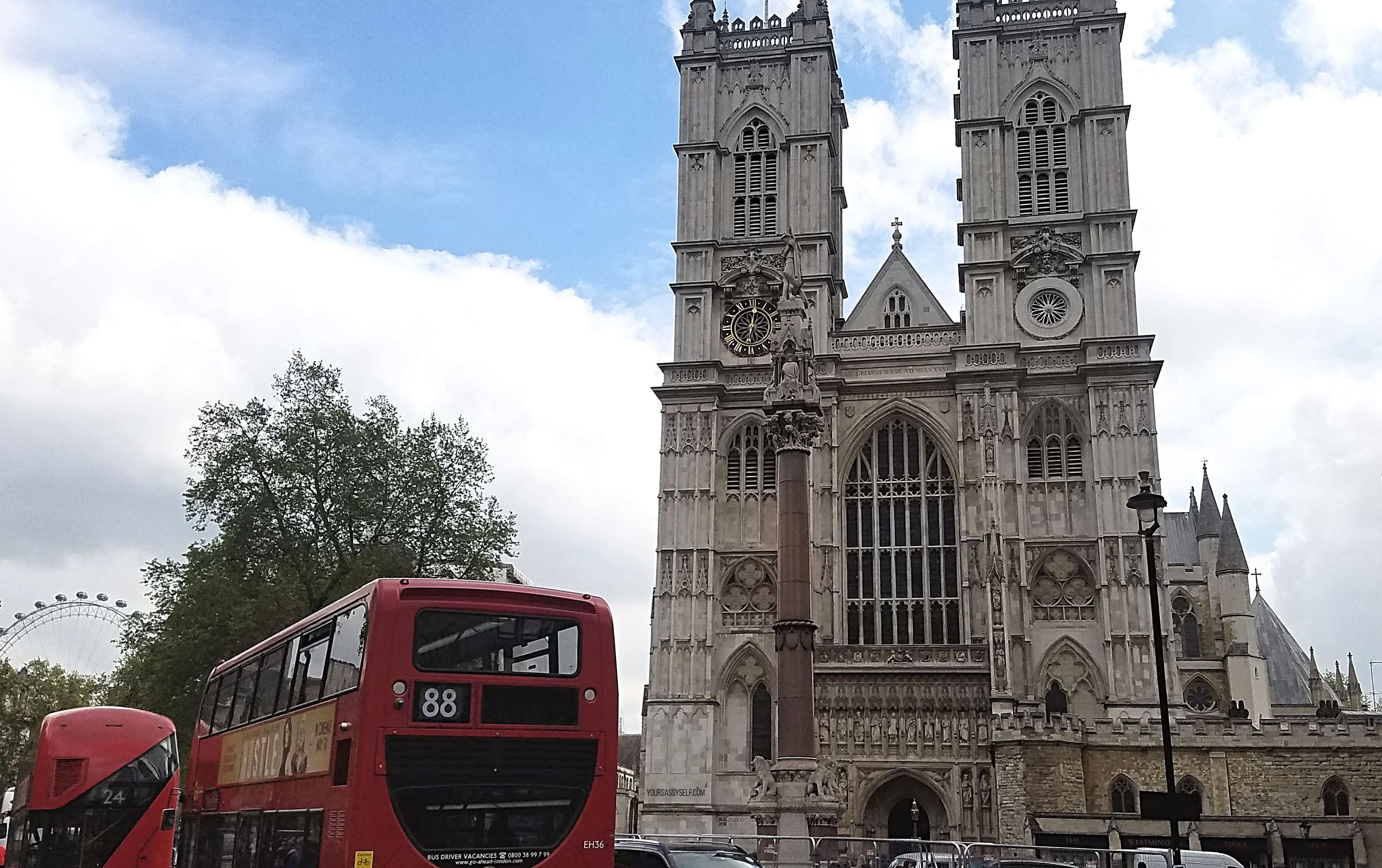 Westminster Abbey - yoursassyself.com