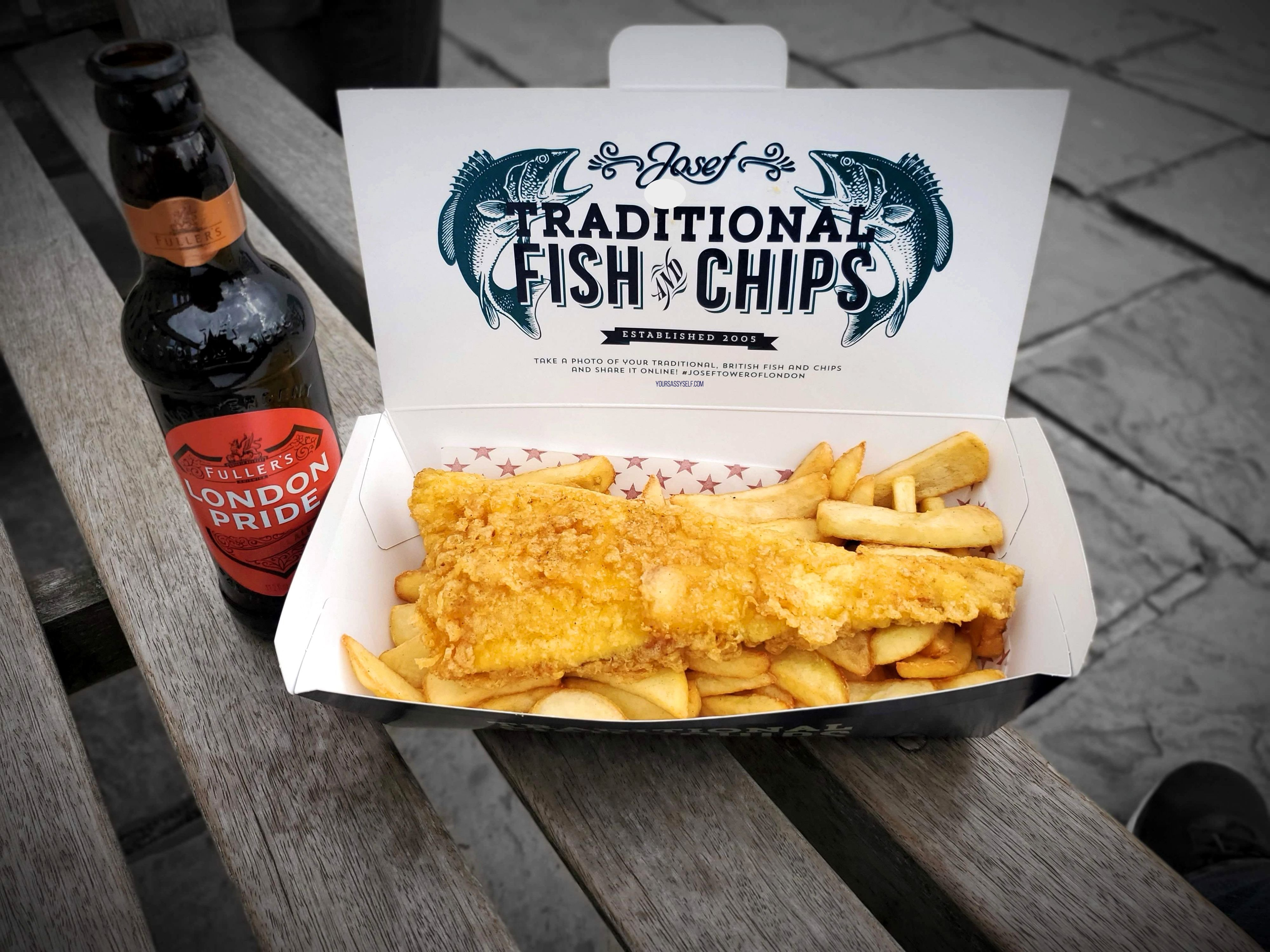 Beer, Fish and Chips - yoursassyself.com