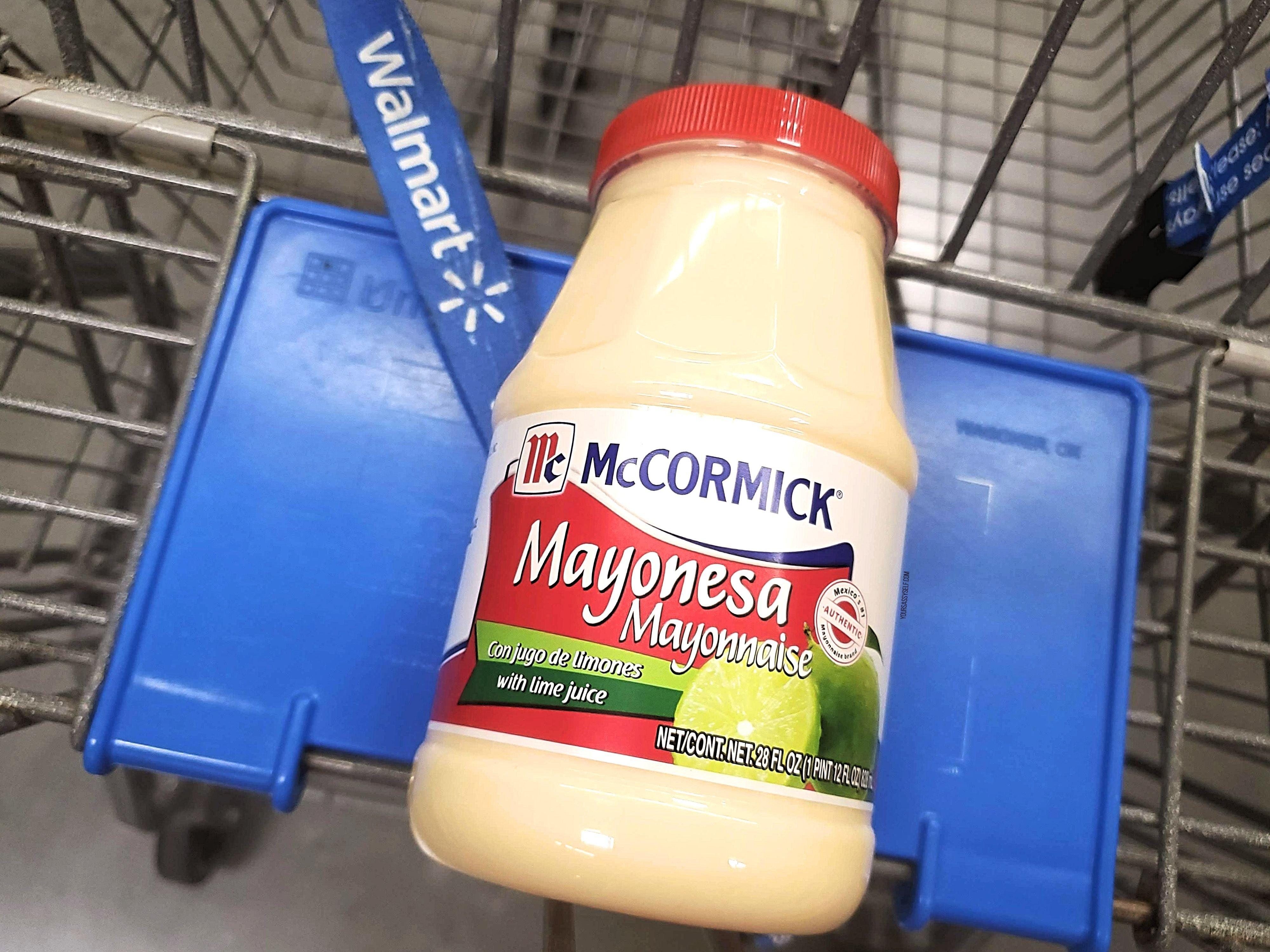 McCormick® Mayonesa at Walmart - yoursassyself.com