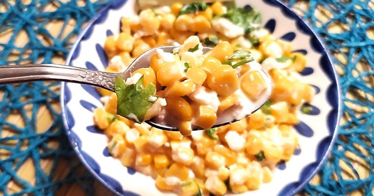 Easy Mexican Street Corn Recipe
