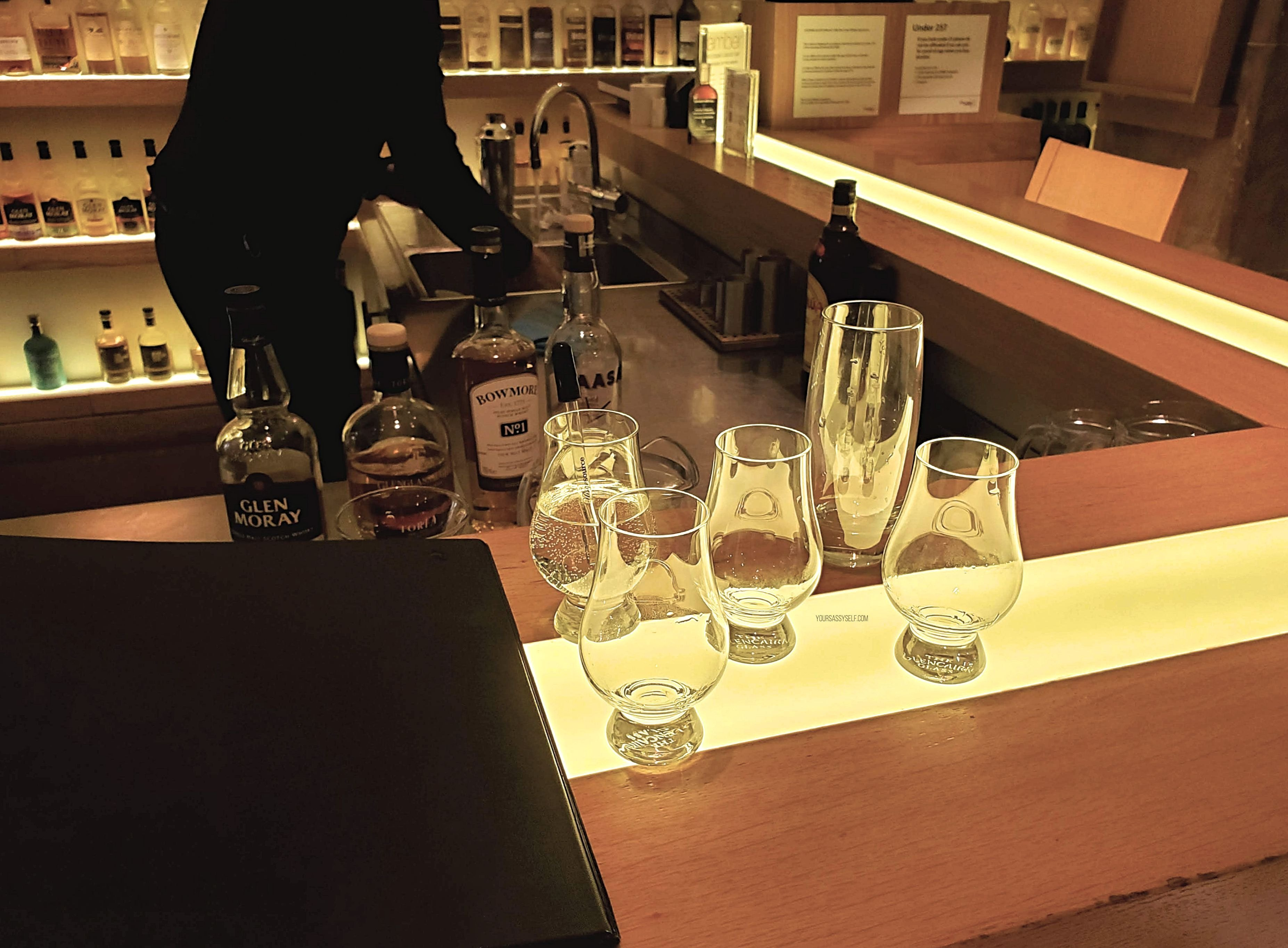 Whisky Tasting at The Scotch Whisky Experience - yoursassyself.com