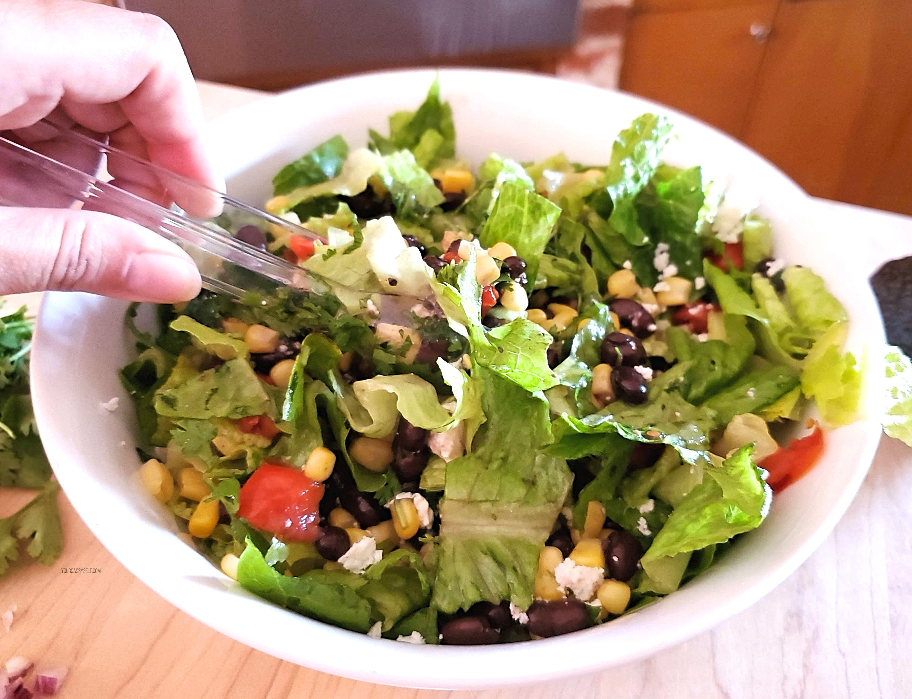Tossing Salad - yoursassyself.com