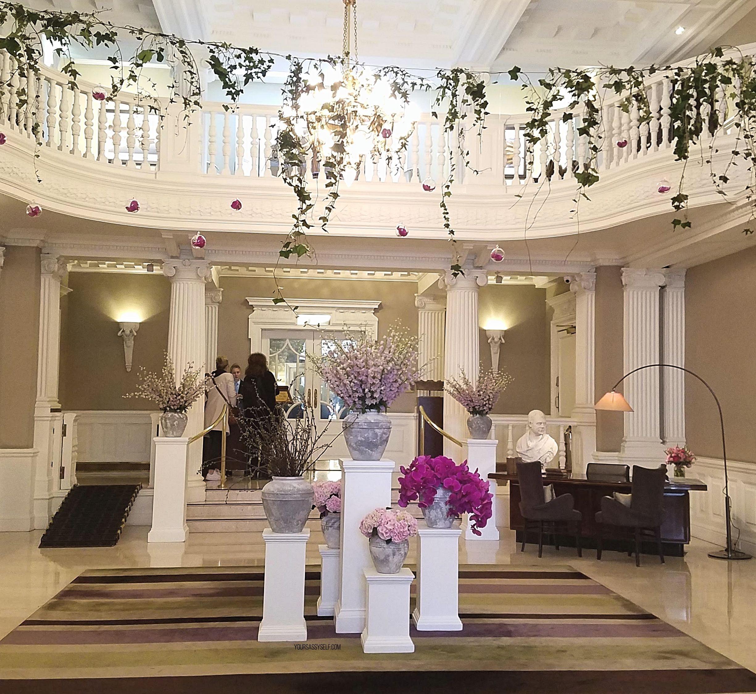 Balmoral Hotel Lobby - yoursassyself.com