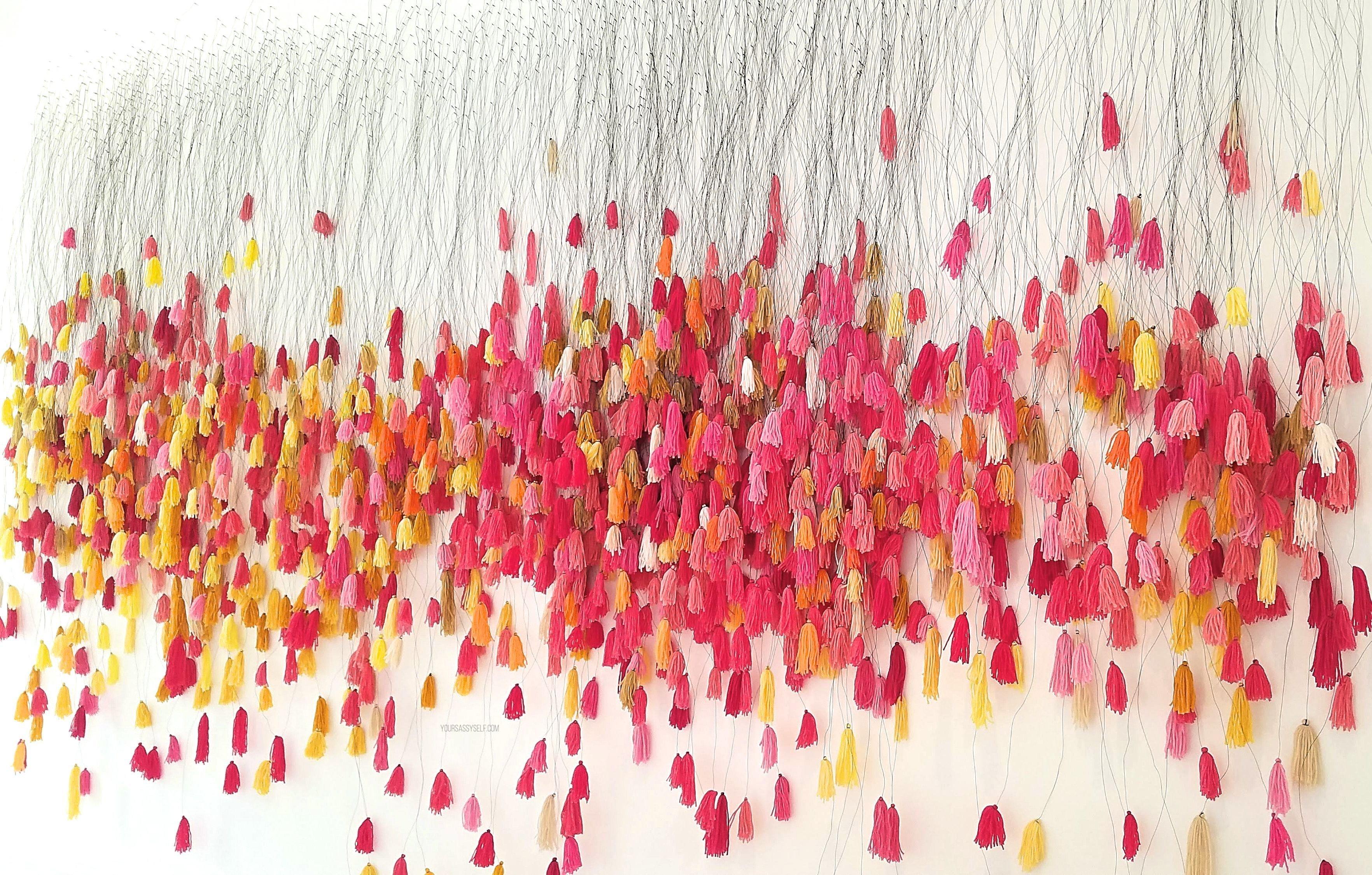 Red Orange Yellow Pink Tapestry - yoursassyself.com