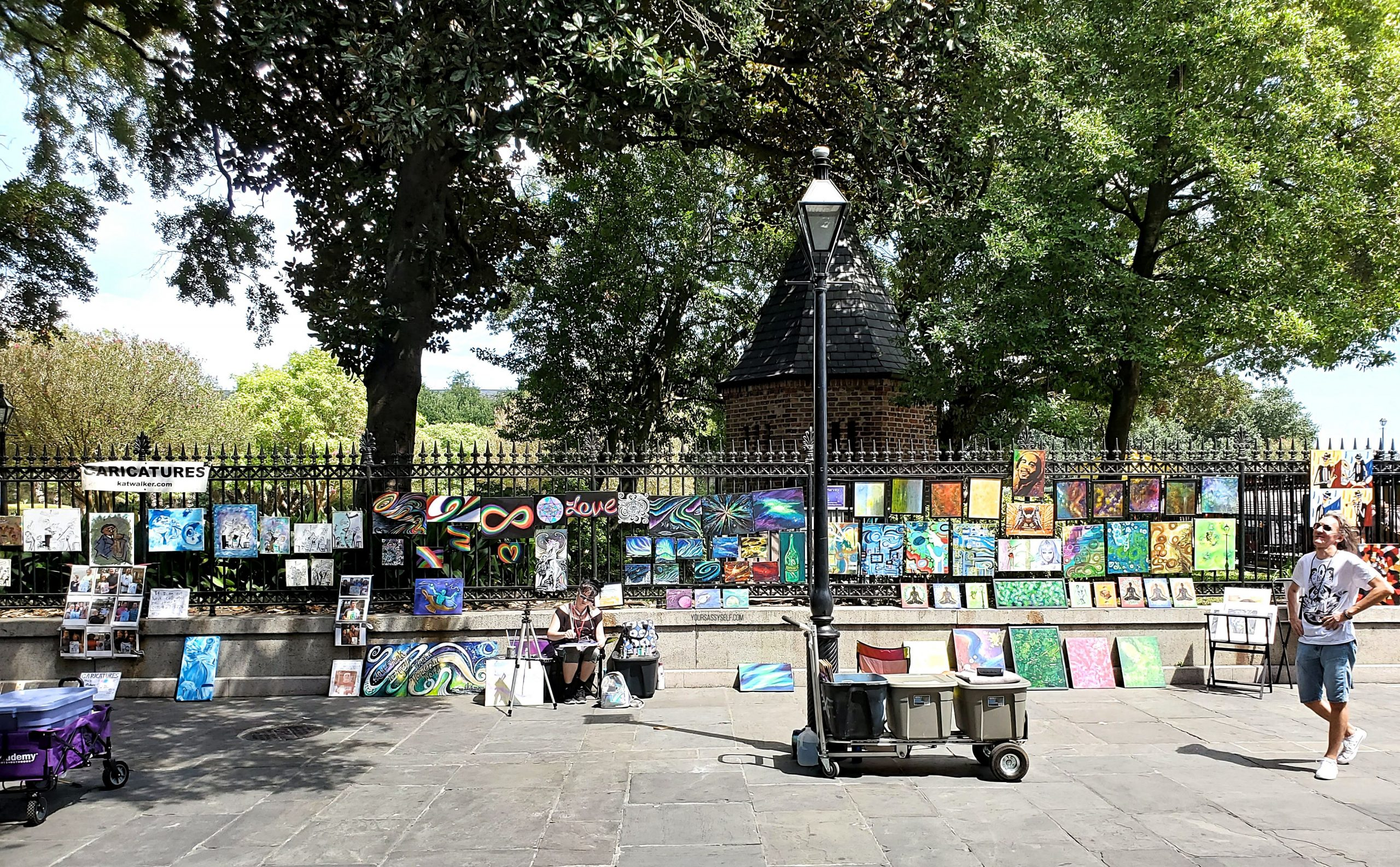 Jackson Square Artists - yoursassyself.com